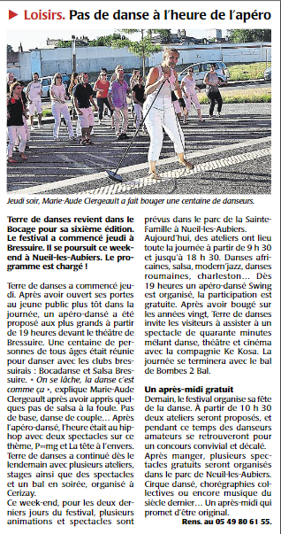 Courrier ouest 2015 07 11